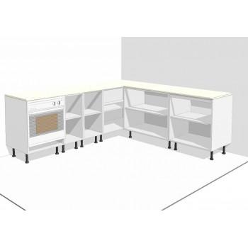 Muebles color Blanco Altos y Bajos