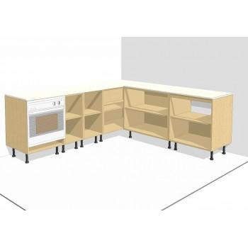 Muebles color Haya Altos y Bajos