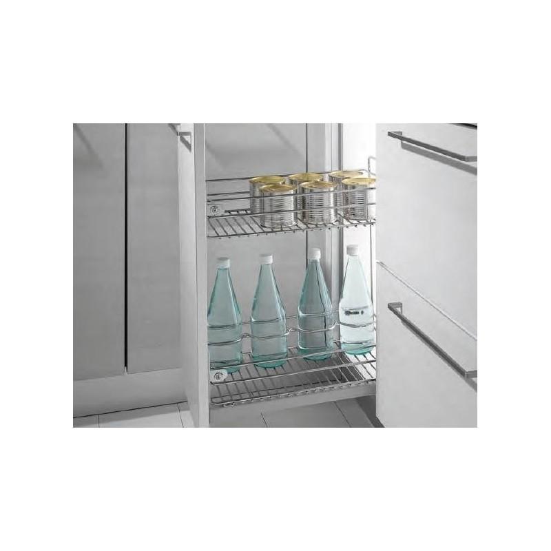 Mueble De Baño Quadro: COCINA > ACCESORIOS > ACCESORIOS DE COCINA > Botellero 2 cestas Quadro