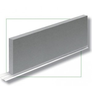 Zocalo color Aluminio