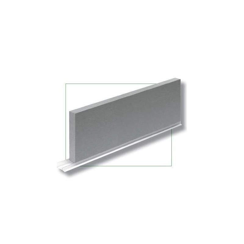 Zocalo color aluminio for Grifo cocina pared 15cm